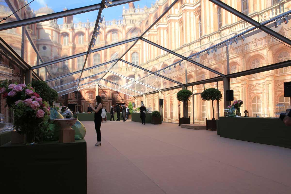 Conception et création de structures, tentes et gardens